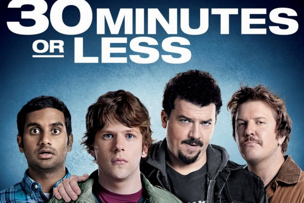 30 Minutes or Less (2011) Hindi Dubbed Movie *DVD*