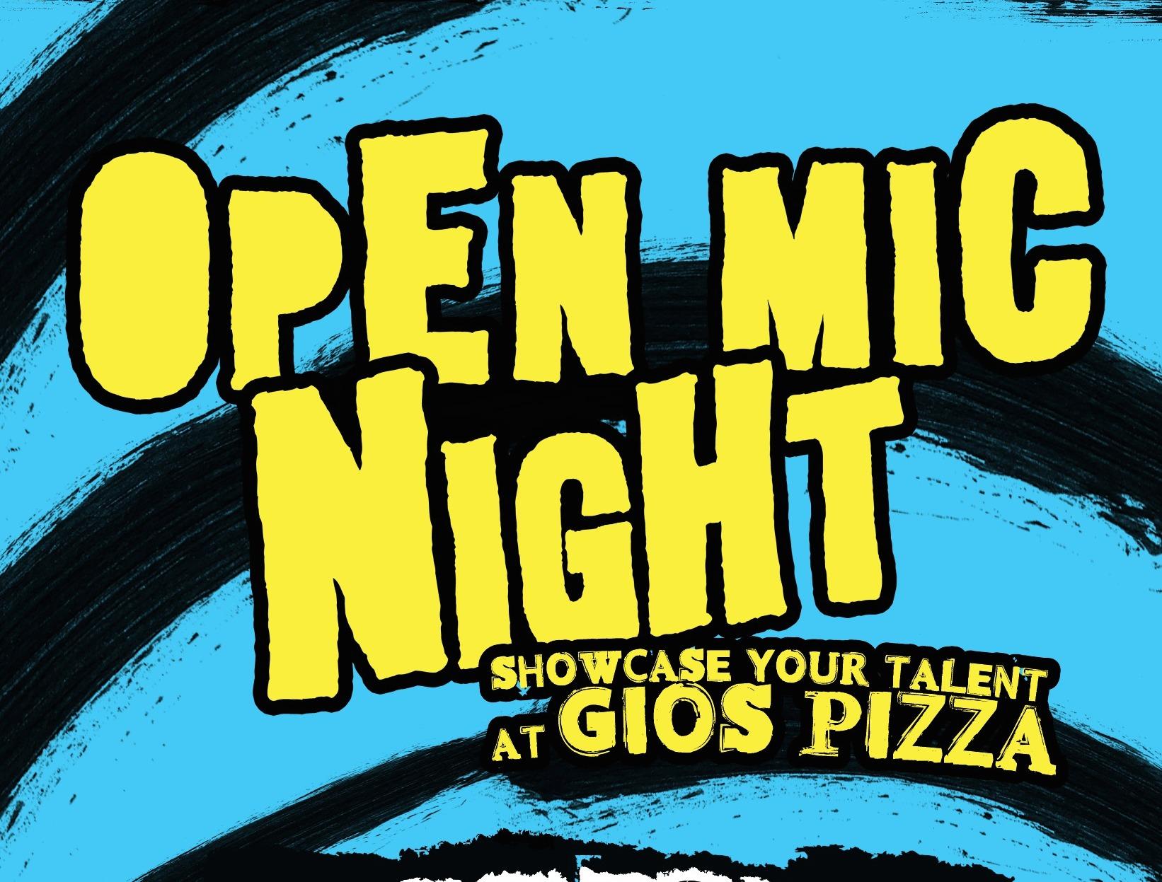 Open Mic Night @ Gio's!