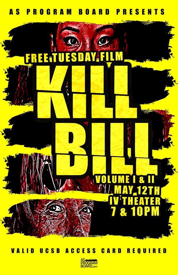 FREE Tuesday Film: Kill Bill Vol. 1 + 2