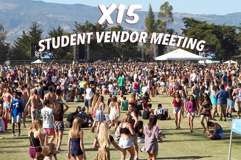 Student Vendor Meeting for Extravaganza 2015
