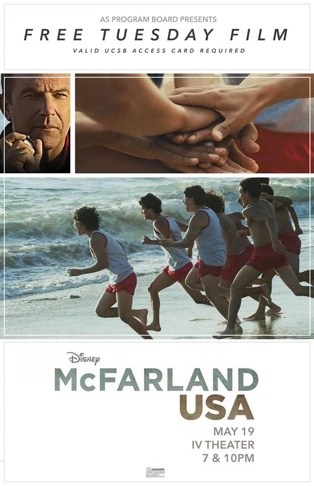 FREE Tuesday Film: McFarland USA