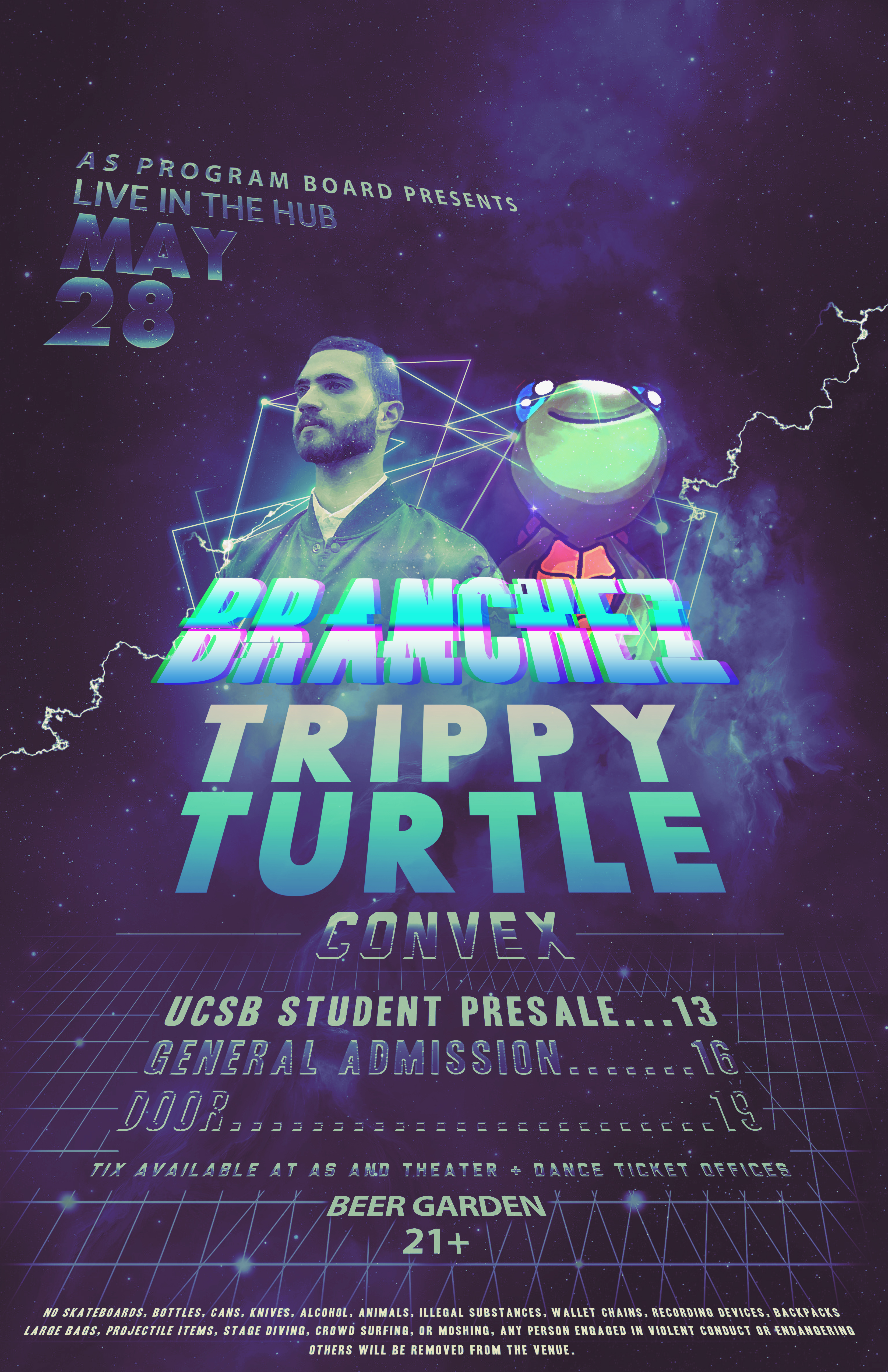 BRANCHEZ with Trippy Turtle in The Hub **SOLD OUT**