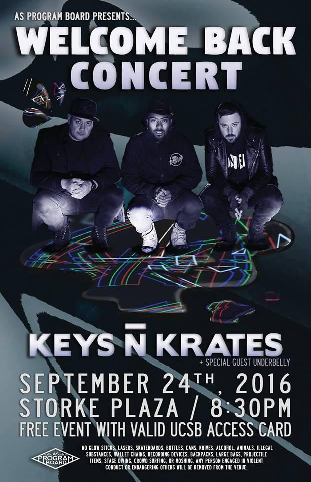 Welcome Back Concert ft. Keys N Krates