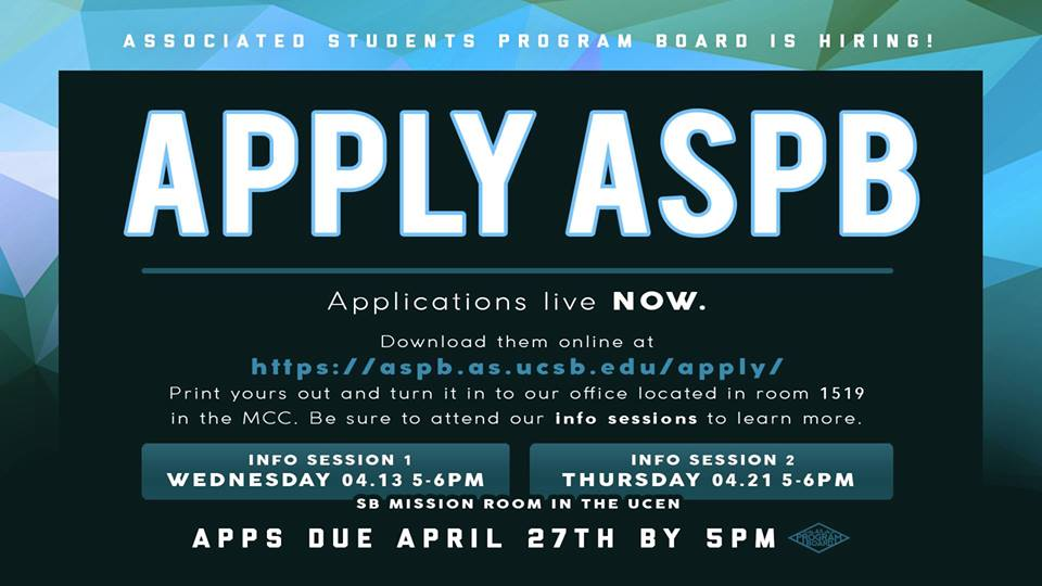 APPLY for AS Program Board 2016-2017