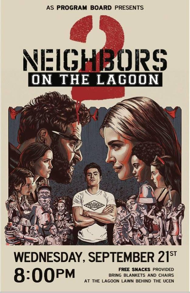 Welcome Back Lagoon Move: Neighbors 2