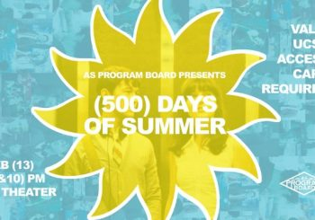 Free Tuesday Film: 500 Days of Summer!