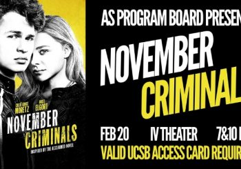 Free Tuesday Film: November Criminals!