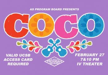 Free Tuesday Films: Coco!