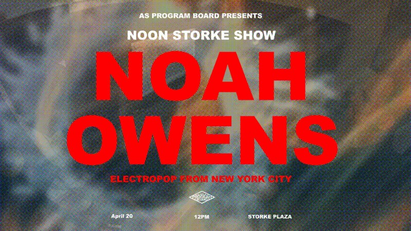Free Noon Storke Show: Noah Owens