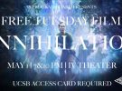 Free Tuesday Film: Annihilation