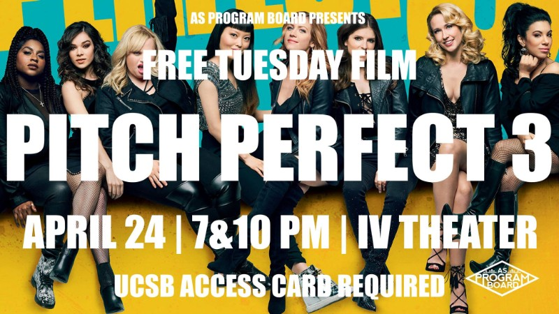 Free Tuesday Film: Pitch Perfect 3