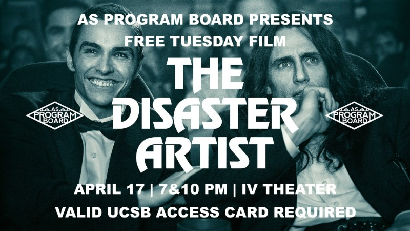 Free Tuesday Film: The Disaster Artist
