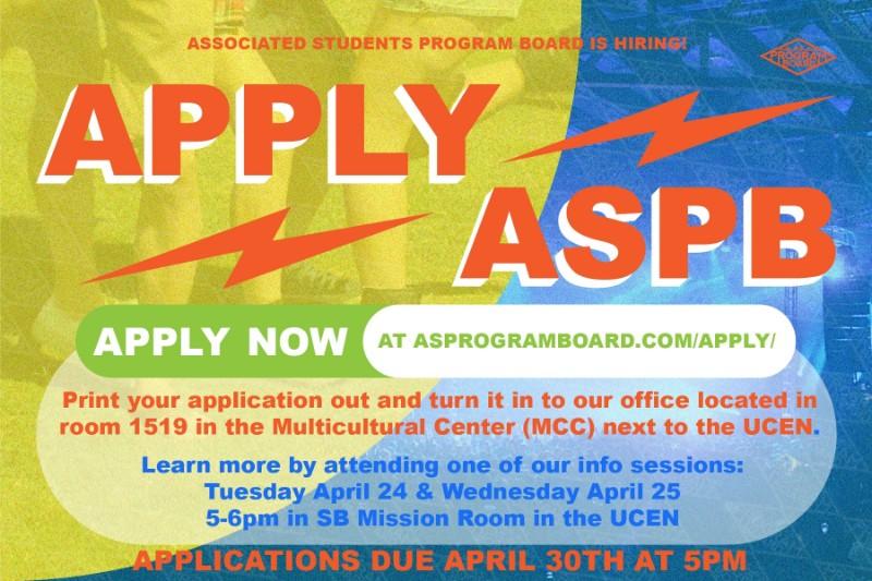 APPLY for AS Program Board!