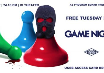 Free Tuesday Film: Game Night