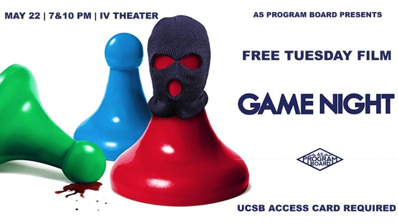 Free Tuesday Film: Game Night