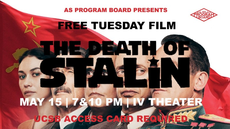 Free Tuesday Film: The Death of Stalin