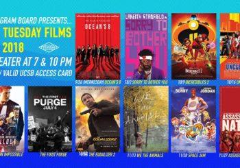 Free Tuesday Films Fall 2018!