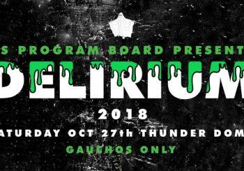 Delirium 2018 Save the Date
