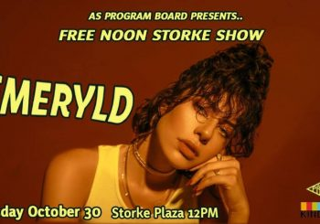AS Program Board Presents… Free Noon Storke Show ft. Emeryld!