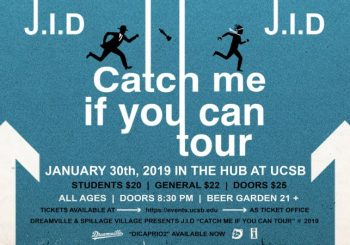 "J.I.D ""Catch Me If You Can Tour"" In The Hub"