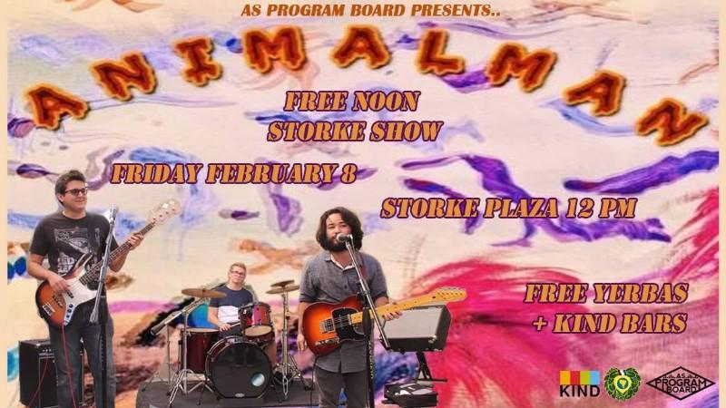 Free Noon Storke Show: Animal Man