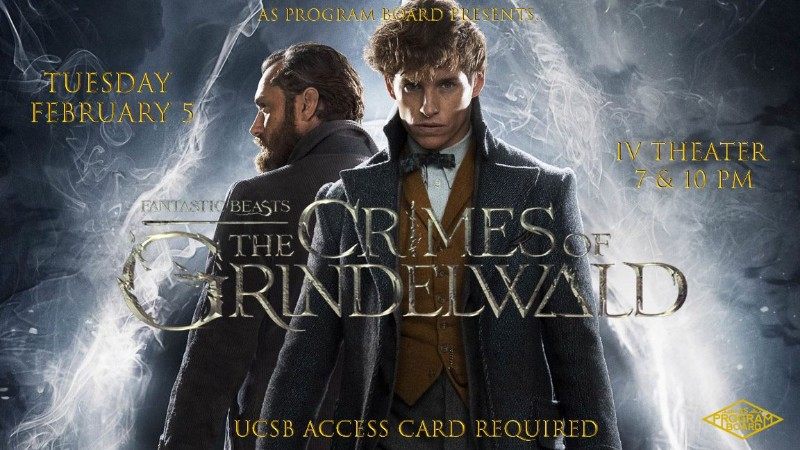 Free Tuesday Film: Fantastic Beasts The Crimes of Grindelwald