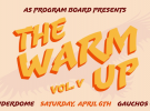 The Warm Up: SAVE the DATE!