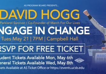 David Hogg: Engage in Change
