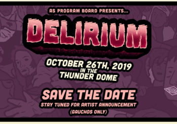 SAVE THE DATE: Delirium 2019!
