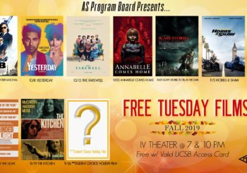 Free Tuesday Films Fall 2019