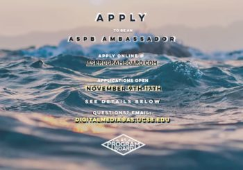 Looking for AS Program Board Ambassadors, 2019-2020!