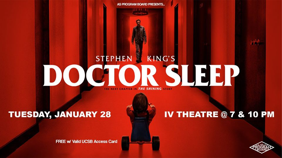 Free Film Tuesday at I.V. Theater: Doctor Sleep (1/28)