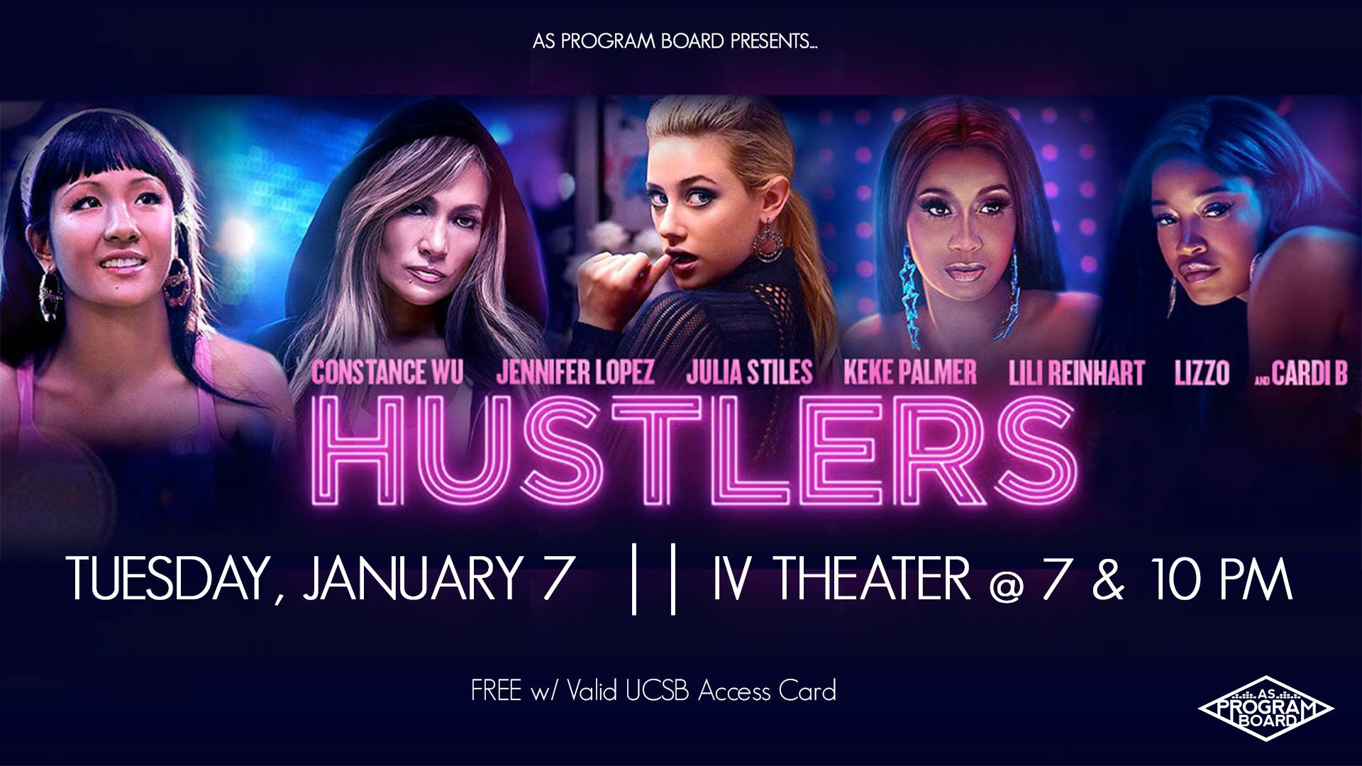 Free Tuesday Film: Hustlers 1/7