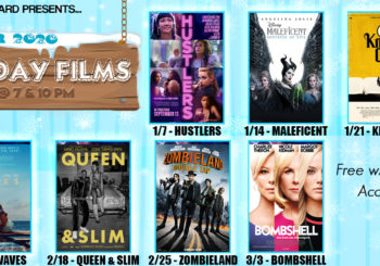 Free Tuesday Films at I.V. Theater: Winter 2020