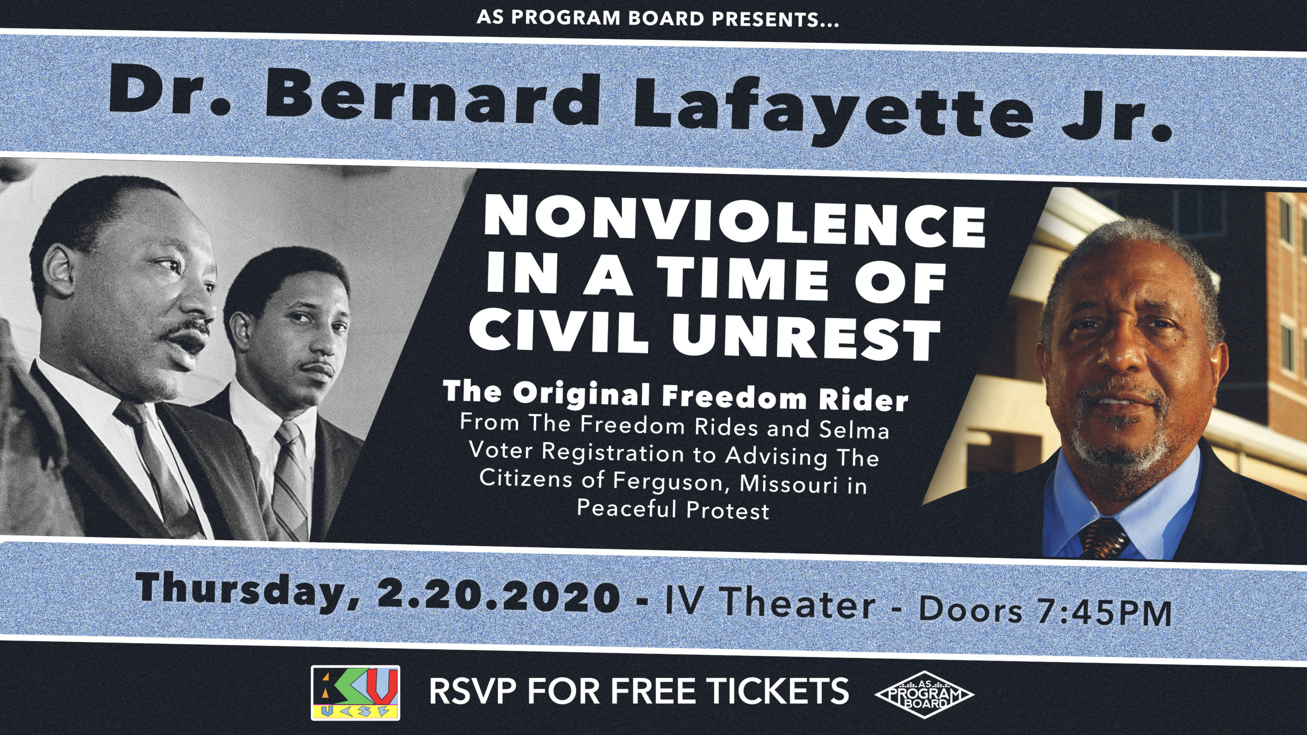 An Evening with Dr. Bernard Lafayette Jr.