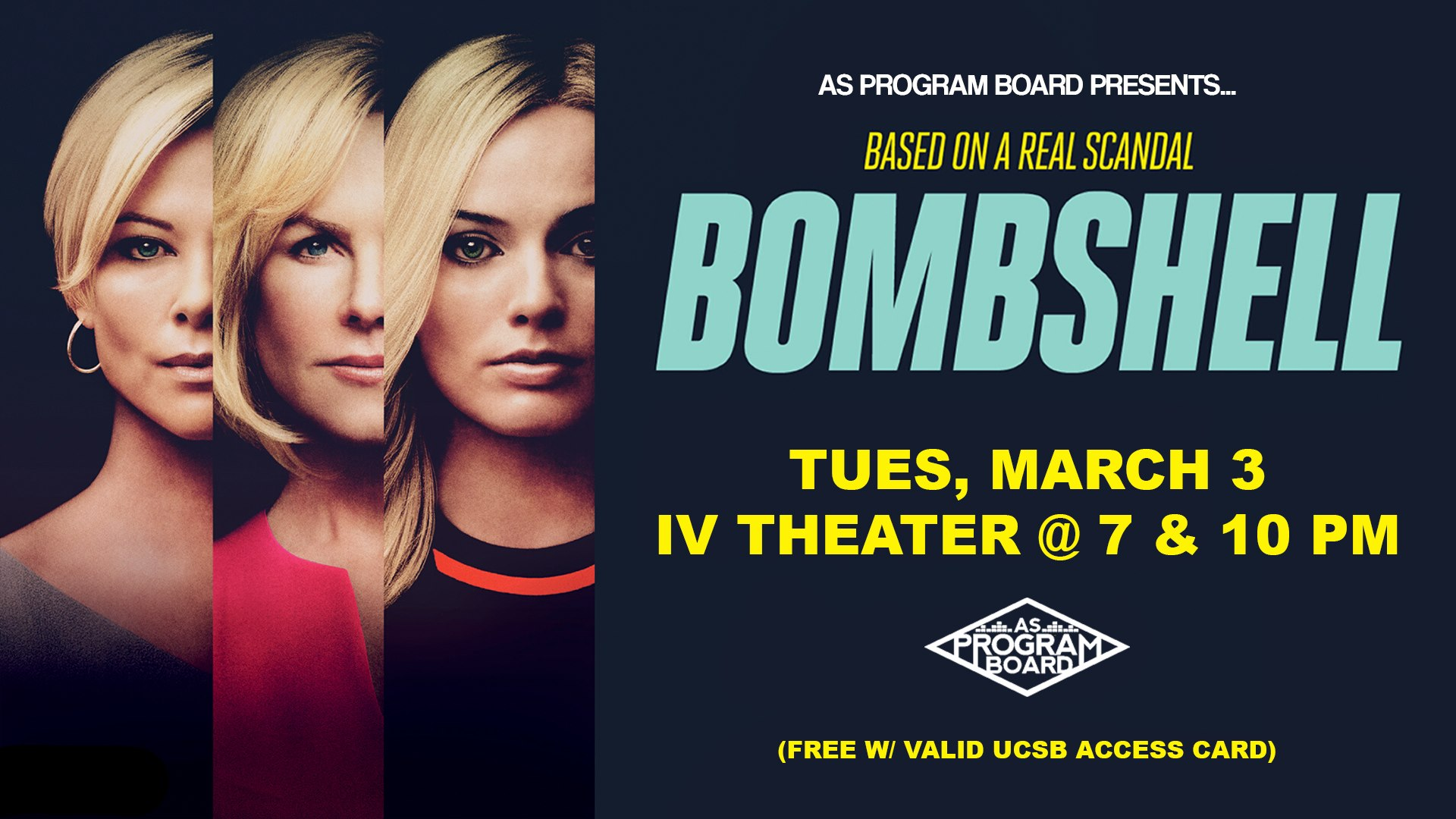 Free Tuesday Film: Bombshell 3/3