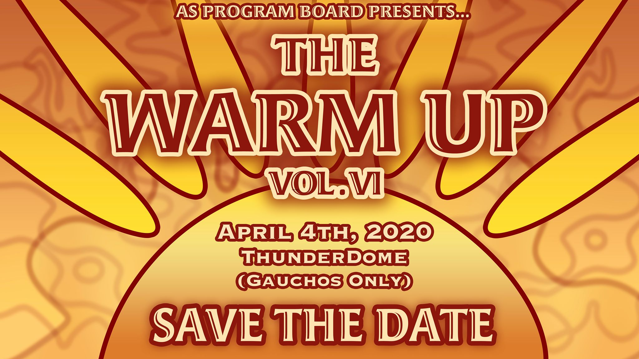 Save the Date: The Warm Up
