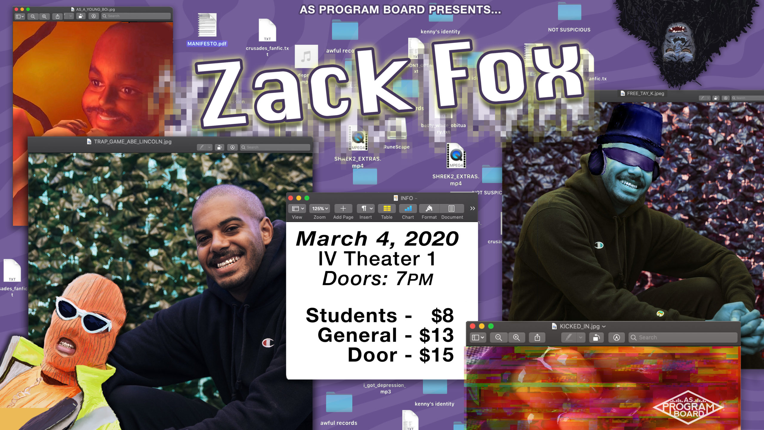 A Night of Comedy with Zack Fox