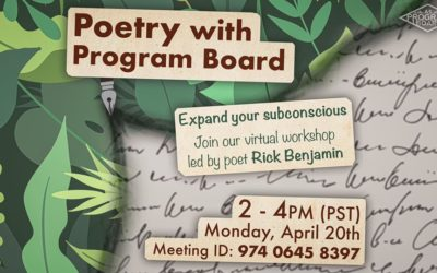Poetry Workshop ft. Rick Benjamin